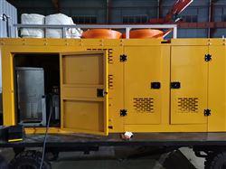 大流量便携式应急排水泵车