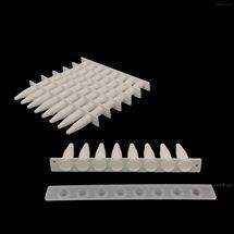 0.2 ml PCR 8联排管,平盖,白色