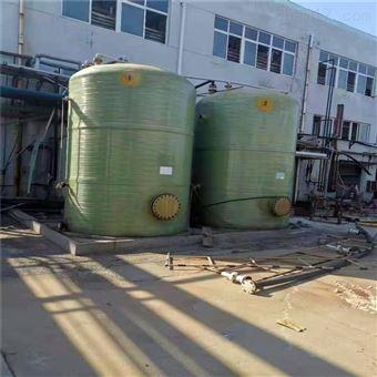 优质供应二手100吨玻璃钢贮存罐照片