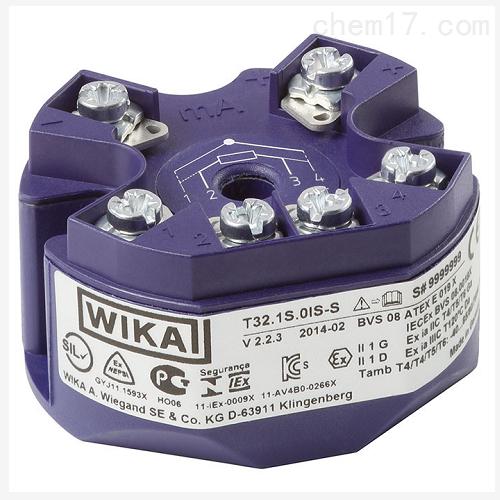 威卡WIKA数字式温度变送器