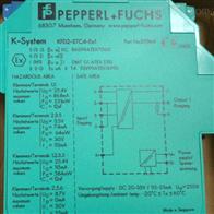 KFD2-STC4-EX1德国倍加福P+F安全栅