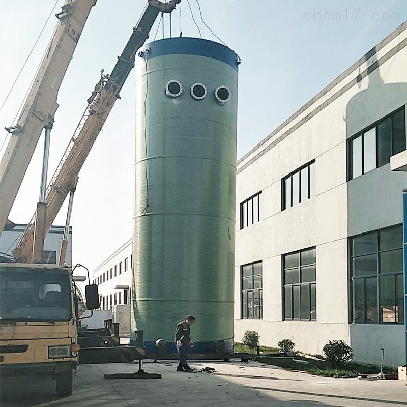 江苏GRP玻璃钢一体化污水提升泵站厂家