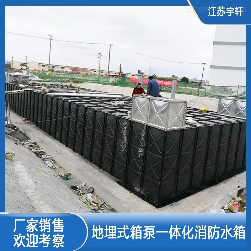 上海地埋式消防给水设备现场组装的价格