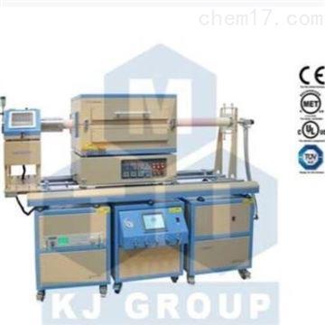 OTF-1500X-III-4CV三温区1500°C PECVD系统