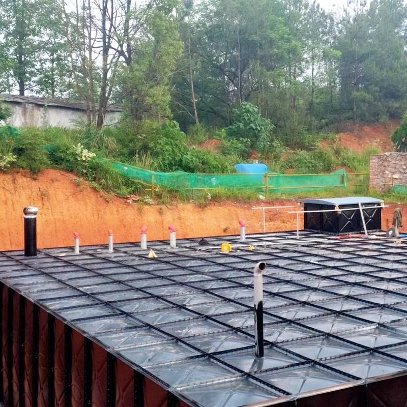 河北邯郸地埋式箱泵一体化给水泵站