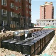 江蘇抗浮地埋式消防箱泵一體化水池