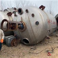 二手40吨内盘管不锈钢反应釜