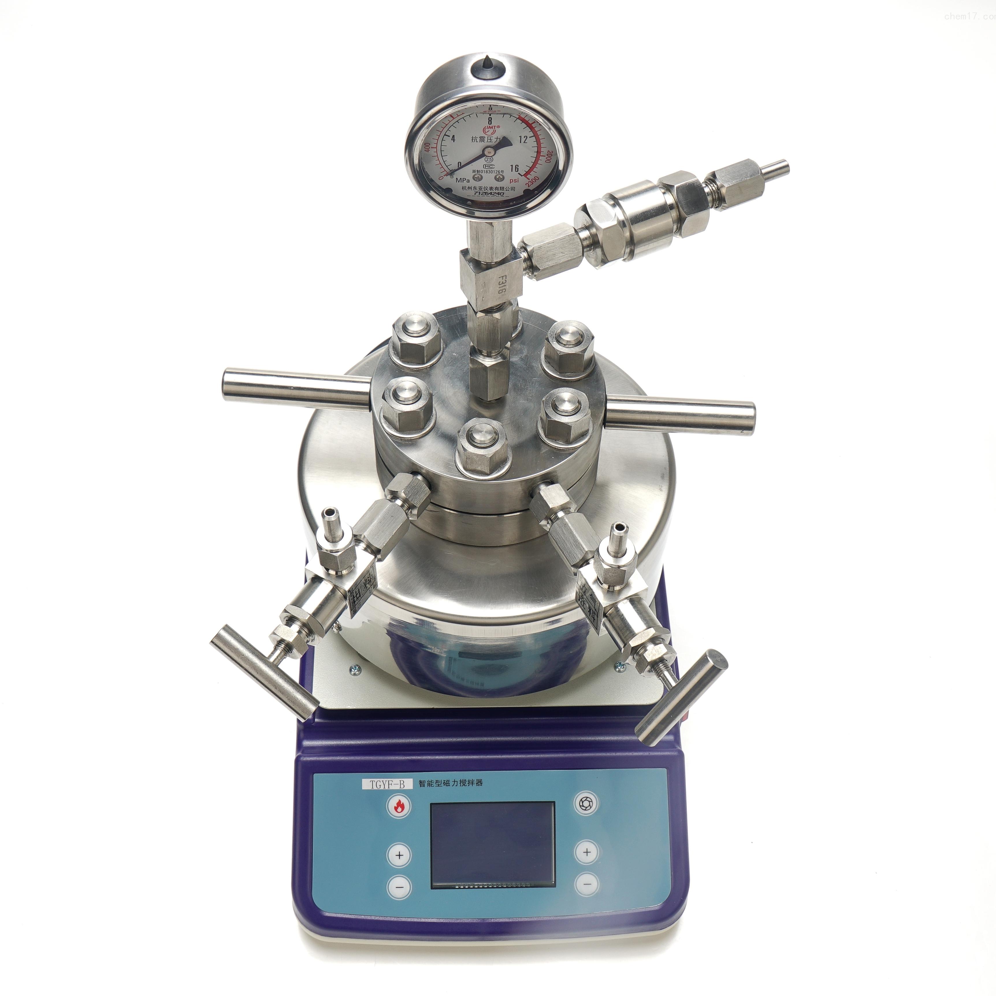 秋佐科技 磁力搅拌高压反应釜+TGYF-C250ML