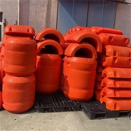 FT700*800夹管台揽浮体水面拦污塑料浮筒