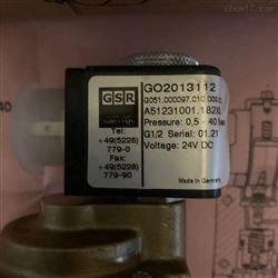 德国GSR直动式电磁阀正品渠道经销商