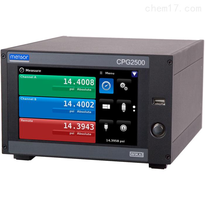 CPG2500精密型WIKA压力显示仪