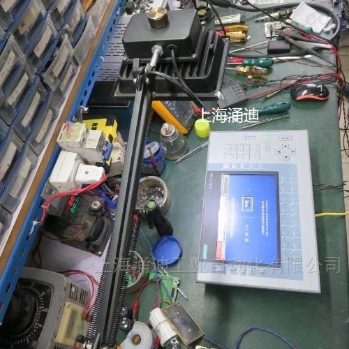 西门子KP900触摸屏无数据显示通讯故障维修