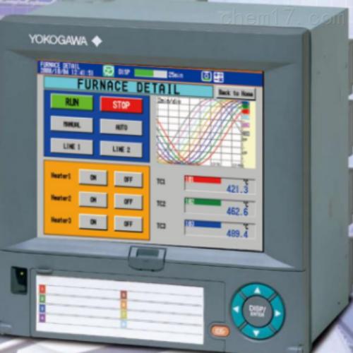 无纸记录仪FX106-4-3有纸日本横河YOKOGAWA