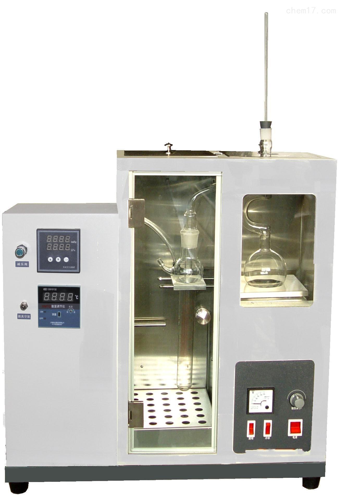 石油产品减压馏程测定仪(数显)