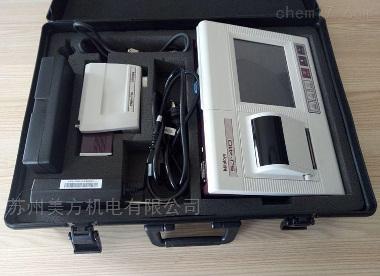 178-390S三丰表面粗糙度仪SJ-412+简易工作台