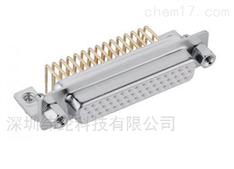 44针母端直角型D-sub连接器