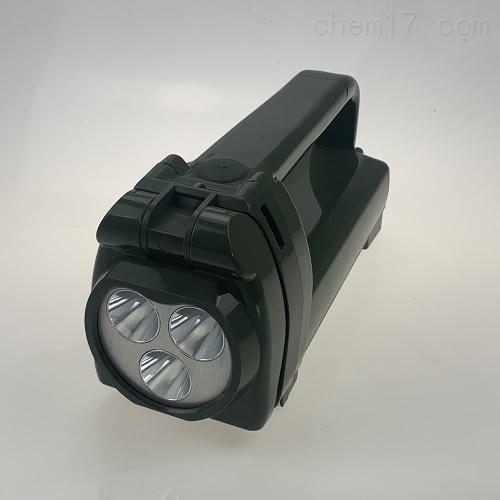 班用强光搜索灯手摇式充电工作灯
