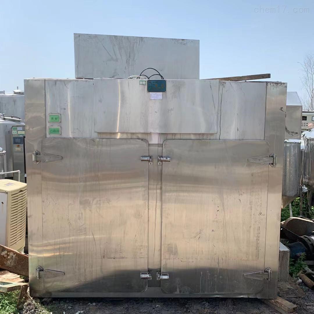 二手2门4车96盘烘箱 热风循环干燥箱重量3吨