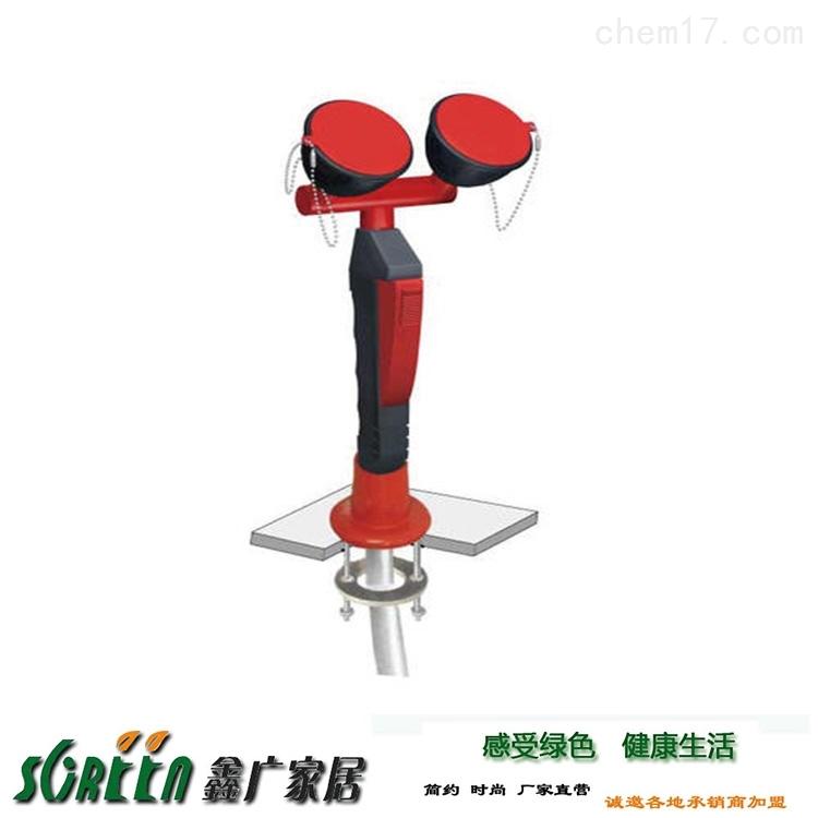 潍坊实验室双口洗眼器,紧急喷淋装置