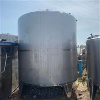 二手10000升 液体暂存罐 不锈钢储罐