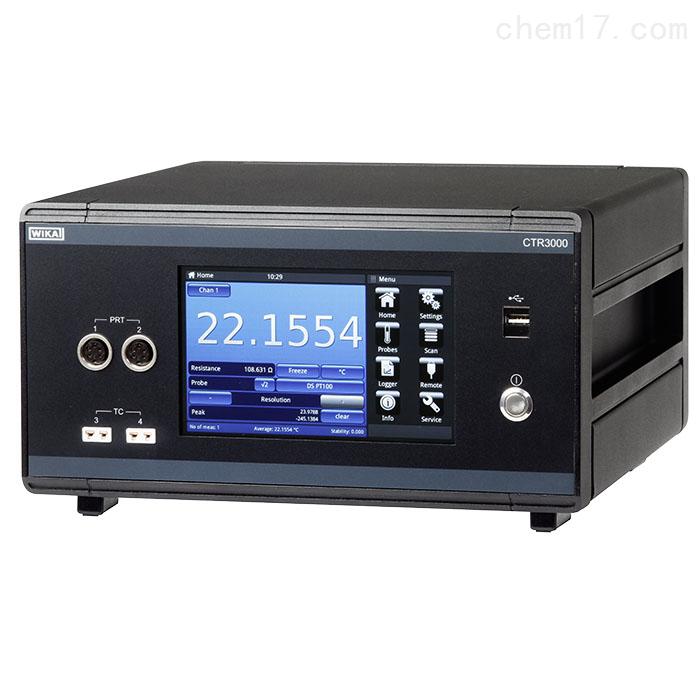 WIKA多通道温度计CTR3000高精度温度测量