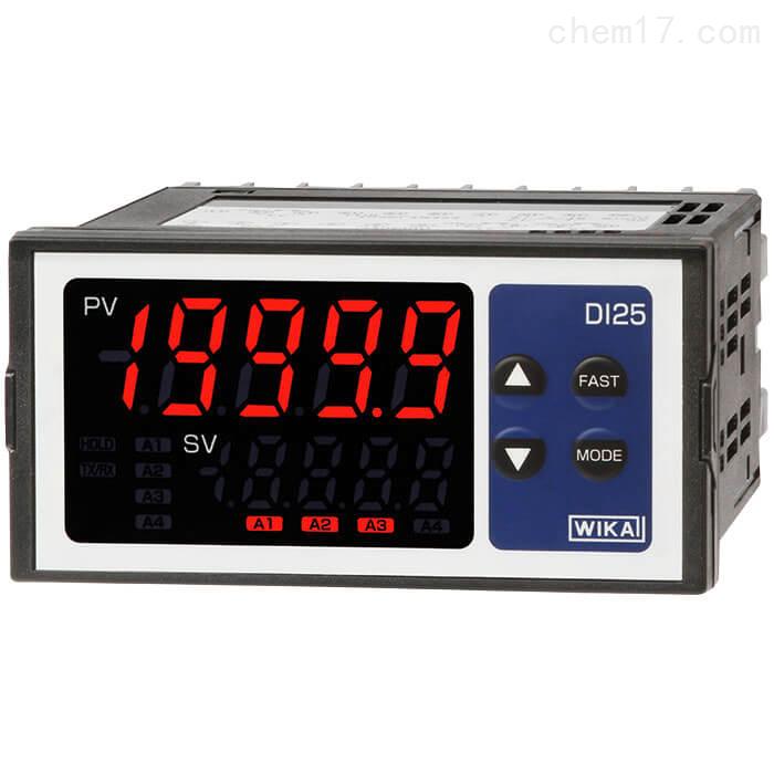 WIKA威卡面板安装式数显仪DI25防护等级IP66