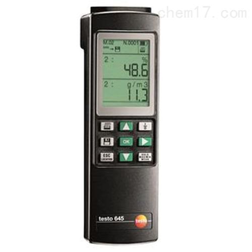 德图testo 645 - 温湿度测量仪