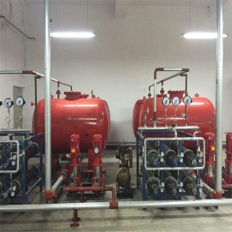 室内采用临时高压消防给水系统