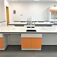 L16揭阳承重好工厂实验室理化板台面钢木实验台