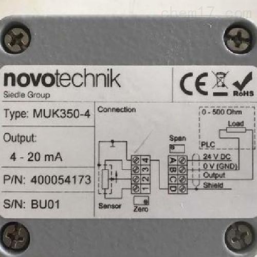 德国诺沃泰克novotechnik传感器