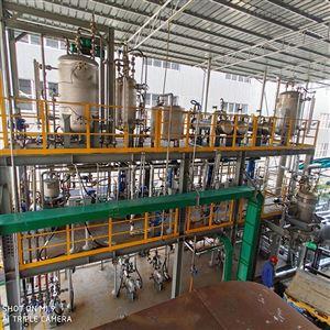 化工行业连续生产线反应釜系统