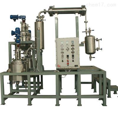 50L连续酯化缩聚钛材实验室系统