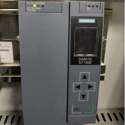 修复解决西门子模块1500PLC上电没反应电源有电