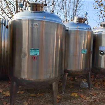 现货转让二手10立方立式不锈钢保温罐介绍