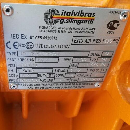 ITALVIBRAS振动电机MVSI 10/6500-S02