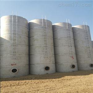 二手磷酸钢衬塑储罐