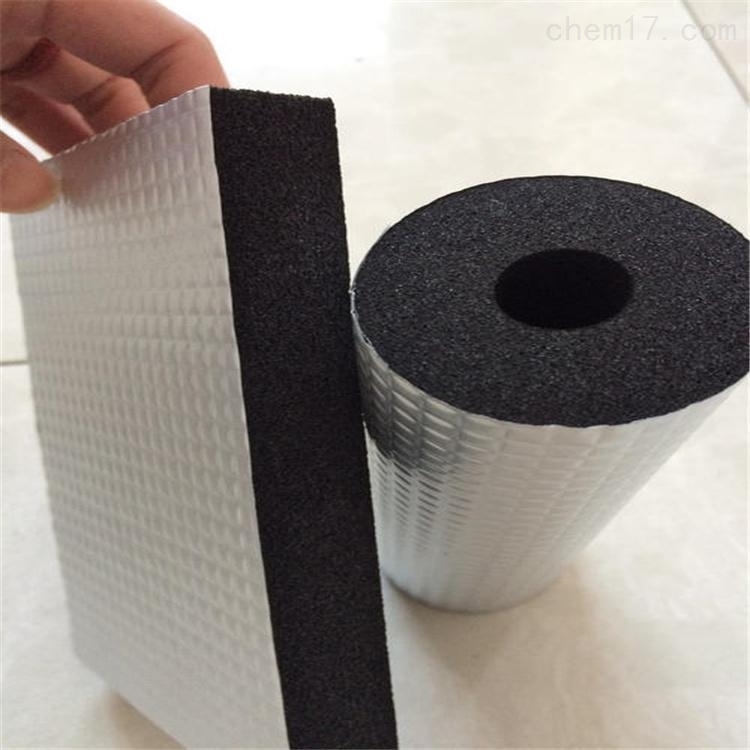 橡塑条贴铝箔隔热板
