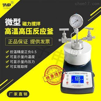 微型磁力攪拌高溫高壓反應釜