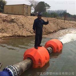FT700*800警示拦截油沙输送管道抬揽浮塑料管道浮筒