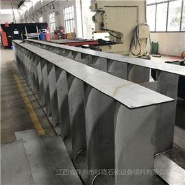 生产现场:DN12000双列叶片式气体分布器