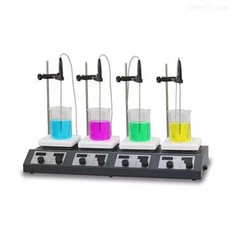 四工位磁力加熱攪拌器