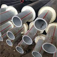 山东省硬塑料聚氨酯塑套钢热水保温管报价