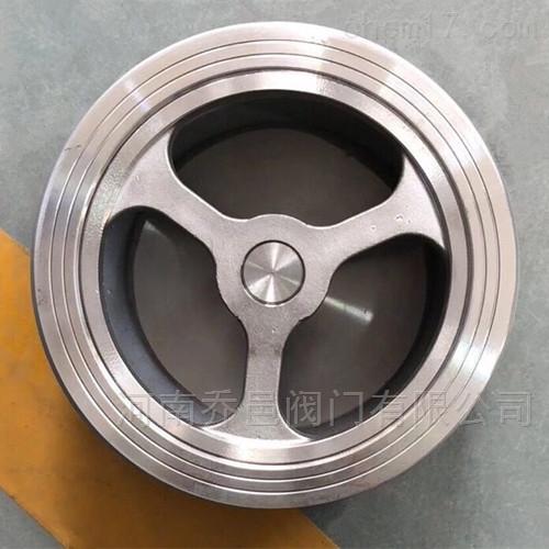不锈钢对夹升降式止回阀
