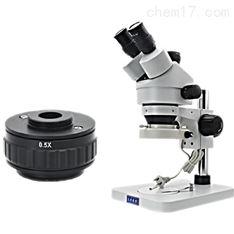 三目连续变倍体视显微镜 大可放大180倍