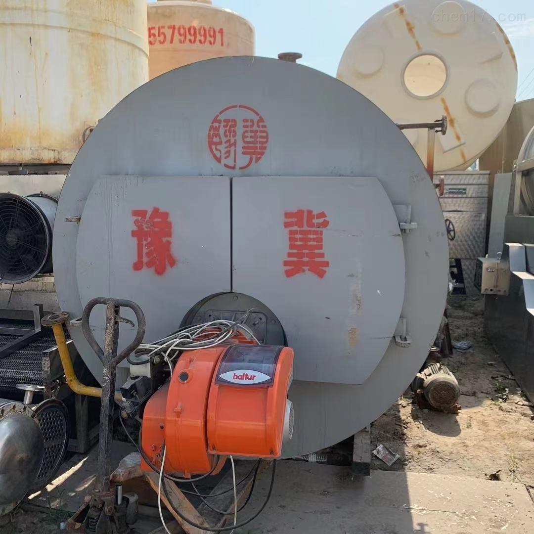 二手4吨燃气热水锅炉