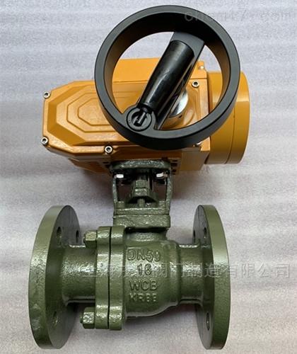 精小型防爆电动衬氟球阀