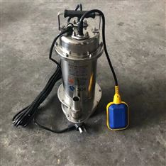 QDX3-22-0.75全自动不锈钢潜水泵