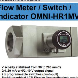 OMNI-HR1MV豪斯派克Honsberg流量计流量开关