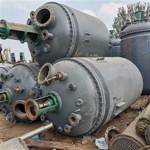 山东回收二手25立方不锈钢反应釜