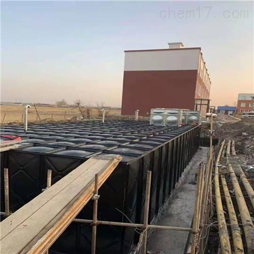 地埋式抗浮箱泵一体化增压供水泵站